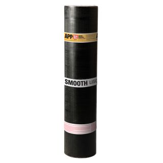 Grip Rite 3 ft W x 32.8 ft L 100 sq ft Black Roll Roofing