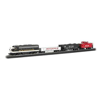 Bachmann Trains Thoroughbred HO Scale Ready To Run Electric Train Set    Bachmann