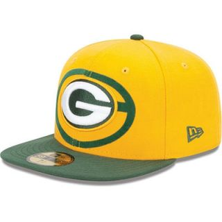 4c0f7c9a9 ... Vintage Hats  New Era Green Bay Packers Over Flock 59FIFTY Structured  Fitted Hat ...