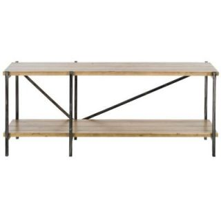 Safavieh American Home Collection Theodore Console Table in Natural Color AMH4124A