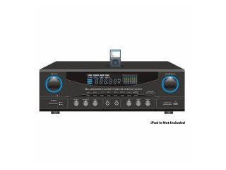 SOUND AROUND PYLE INDUSTRIES PT4601AIU 800 Watts Stereo Receiver AM FM Tuner USB SD Ipod Docking Station and Subwoofer Control