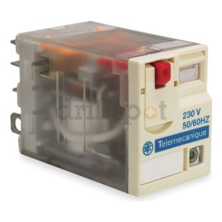 Schneider Electric RPM41BD Relay, 4PDT, 15A, 24VDC Coil