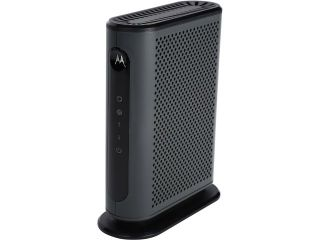 Motorola MB7220 8x4 343 Mbps DOCSIS 3.0 Cable Modem Certified by Comcast XFINITY, Time Warner Cable, and Other Service Providers