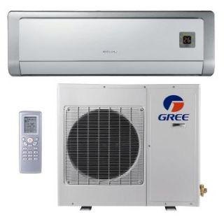 GREE Premium Efficiency 9,000 BTU Ductless Mini Split Air Conditioner with Heat   115V/60Hz GWH09ABA3DNA2B