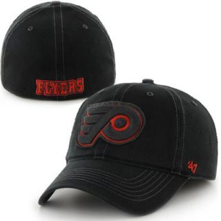 13528121bc4 47 Brand Philadelphia Flyers Helm Flex Hat Black