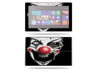 Mightyskins Protective Skin Decal Cover for Microsoft Surface Pro Tablet wrap sticker skins Evil Clown