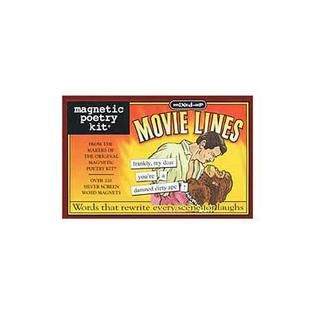 Magnetic Poetry Kit   Mixed Up Movie Lines   Home   Crafts & Hobbies