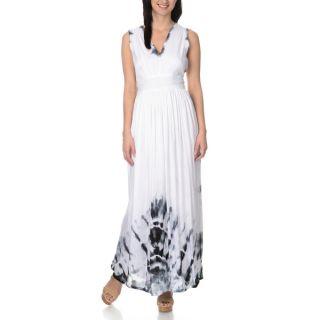 Chelsea & Theodore Womens Empire Waist Maxi Dress   17151968
