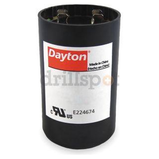 Dayton 6FLU4 Motor Start Capacitor, 30 36mfd, 330v, Rnd