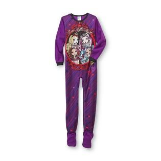 48025297d9 ... Ever After High Girls Footed Pajamas Kids Kids Clothing ...