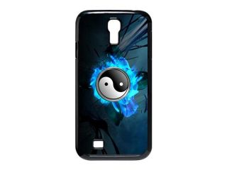 Chinese Traditional Feature Design Taoist Yin Yang& Tai Chi Symbol Background Case Cover for SamSung Galaxy S4 I9500  Personalized Hard Cell Phone Back Protective Case Shell Perfect as gift