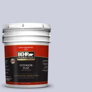 BEHR Premium Plus 5 gal. #640E 3 Simplicity Flat Exterior Paint 405005