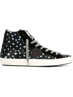 Philippe Model Polka Dot Hi top Sneakers