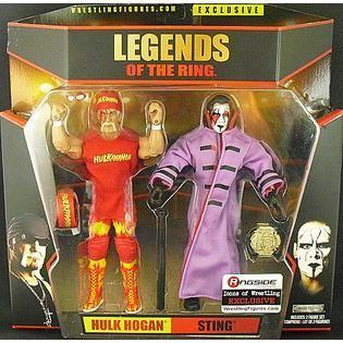 b4440e3f7d7 TNA Impact Wrestling Hulk Hogan   Sting Icons of Wrestling Ringside ...
