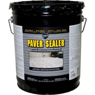 Dyco Paints Paver Sealer 5 gal. 7200 Clear Gloss Exterior Solvent Acrylic Sealer DYC7200/5
