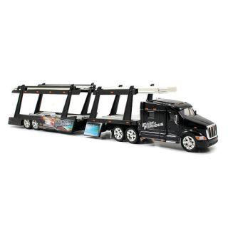 Jada Toys Fast and Furious 1:64 Scale Diecast Peterbilt Model 387 Hauler   Car Carrier    Jada Toys, Inc.
