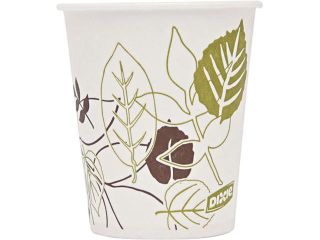 Dixie 58WS 5 oz, 1200/Carton Pathways Wax Treated Paper Cold Cups