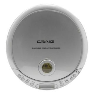 Craig CDM2891 Personal Cd/mp3 Player Anti skip With Earphones
