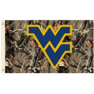 BSI Products NCAA 3 ft. x 5 ft. Realtree Camo Background West Virginia Flag 95412