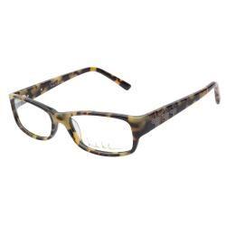 Nicole Miller Baxter C02 Blonde Tortoise Prescription Eyeglasses