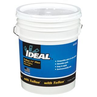IDEAL Wire Pulling Lubricant, 5 gal. Container Size   Chain & Cable Lubricants   10F525 31 395