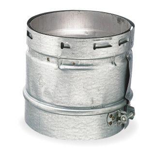AMERI VENT Female Vent Adapter,4 In Dia.,6 In L   Gas Vent Pipe   6E806|4EUA F