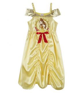 DISNEY PRINCESS   Belle fancy dress costume 5 6 years