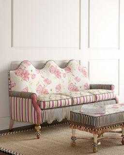 MacKenzie Childs Summerhouse Sofa