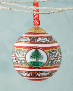 MacKenzie Childs Stacking Star Tree Christmas Ornament