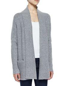 Soft Joie Kanoa Jersey Stitched Sweater, Heather Gray