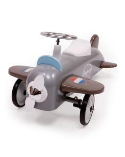 Baghera Metal Airplane Push Car, Multicolor