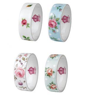 ROYAL ALBERT   Royal Albert set of four napkin rings