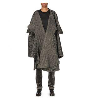 DANIEL GREGORY NATALE   Oversized wool blend coat