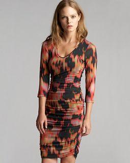 Velvet by Graham & Spencer Dress   Winter Flame Print
