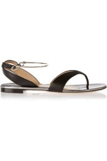 Amiga metal trimmed leather sandals  Paul Andrew