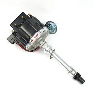 PerTronix D1050 Flame Thrower Distributor HEI Chevrolet Small Block/Big Block Black Cap Machined Housing D1050