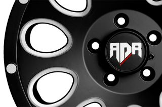 "Red Dirt Road RD02221055508 00C   5 x 139.7mm Single Bolt Pattern Chrome 22"" x 10"" RD02 Rock Wheels   Alloy Wheels & Rims"