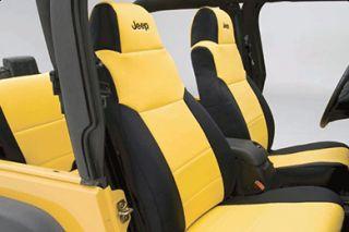 1997 2002 Jeep Wrangler Neoprene Seat Covers   Coverking SPC123   Coverking Jeep Neoprene Seat Covers