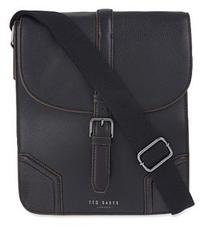 TED BAKER   Jamtons leather messenger bag