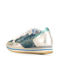 Philippe Model Panelled Retro Sneakers   Idrisi