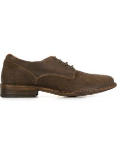 Fiorentini +  Baker Distressed Derby Shoes   O'