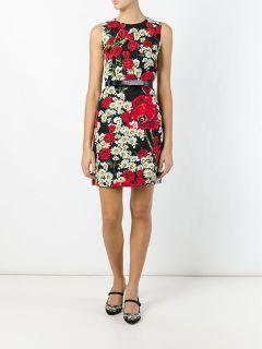 Dolce & Gabbana Daisy And Poppy Print Dress   Pompeu Baqueira