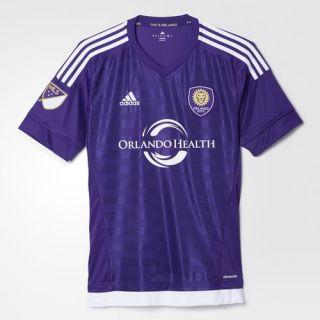 adidas Orlando City Soccer Club Replica Jersey   Purple