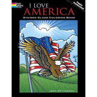 Dover Publications I Love America Coloring Book