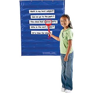 Learning Resources Word and Number Swatters Pocket Chart