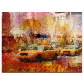 Trademark Fine Art City Impressions by Adam Kadmos Painting Print on