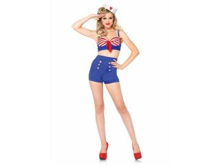 Adult Sexy On Deck Darling Sailor Costume by Leg Avenue 85189