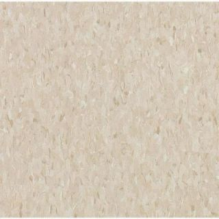 Armstrong Imperial Texture Vinyl Composition Tile Standard Excelon Pebble Tan Vinyl Tile   6 in. x 6 in. Take Home Sample AR 599913
