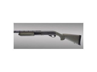Hogue Remington 870 OverMolded Shotgun Stock Kit w/Forend, OD Green