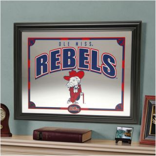 Mississippi Rebels 22 Printed Mirror